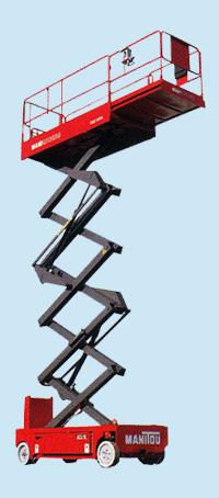 Ножничные подъемники MANIACCESS XEL 80-100-120