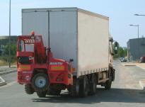 Для установки требуется дополнительный комплект, который монтируется в задней части грузовика или прицепа
