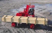 Погрузчик MANITRANSIT способен работать с грузом до 2,0-2,5 тонн