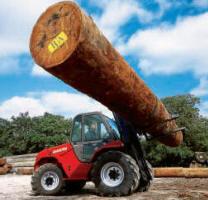 На погрузчик может быть установлено любое навесное оборудование для работы с различными типами грузов.