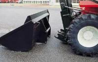 Автопогрузчики с сочлененной рамой MANITOU MA могут комплектоваться кареткой для быстрой смены навесного оборудования